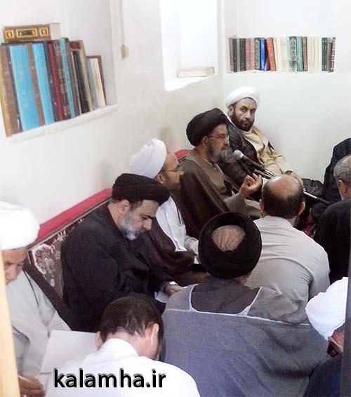 کلاس درس استاد موسوی - مدرسه صدر بازار